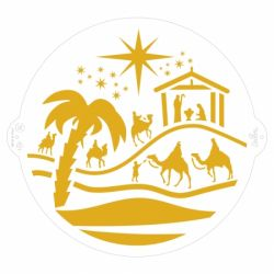 Decora Stencil Christmas Nativity
