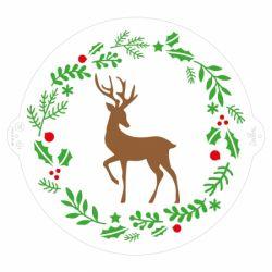 Decora Stencil Christmas Reindeer