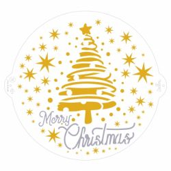 Decora Stencil Christmas Tree