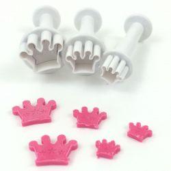 Dekofee Mini Plungers Crowns set/3