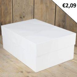 FunCakes Taartdoos Blanco 40x30x15cm