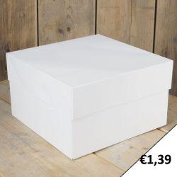 FunCakes Taartdoos Blanco 30x30x15cm