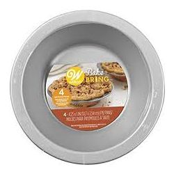 Wilton Bake & Bring Pie Pans 10cm 4/pc