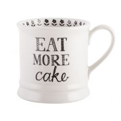 Kitchencraft Eat More Cake Mug