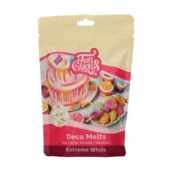 Funcakes Deco Melts Extreem Wit 250gr