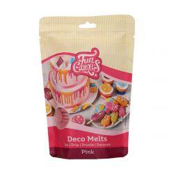 Funcakes Deco Melts Roze 250gr