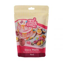 Funcakes Deco Melts Rood 250gr