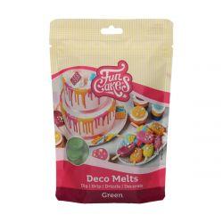 Funcakes Deco Melts Groen 250gr