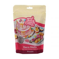 Funcakes Deco Melts Paars 250gr