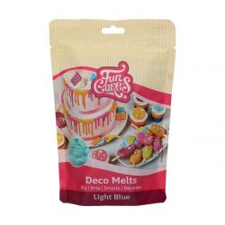 Funcakes Deco Melts Licht Blauw 250gr