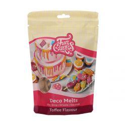 Funcakes Deco Melts Toffee Smaak 250gr