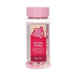 Funcakes Sprinkle Medley Baby Girl 50gr