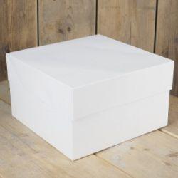 FunCakes Taartdoos Blanco 20x20x15cm