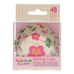 Funcakes Baking Cups Tropical pk/48