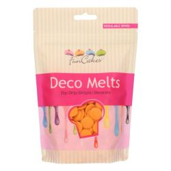 Fun Cakes Deco Melts Oranje 250 gram