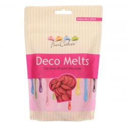 Funcakes Deco Melts Rood