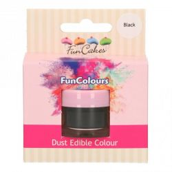 Funcakes Funcolours Dust Edible Colour Black