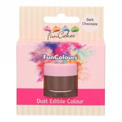 Funcakes Funcolours Dust Edible Colour Dark Chocolate