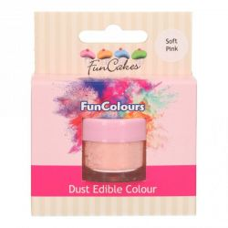 Funcakes Funcolours Dust Edible Colour Soft Pink
