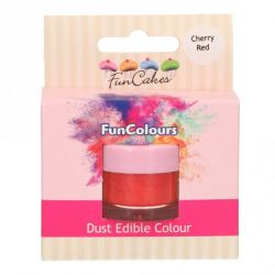 FunCakes Funcolours Dust Edible Colour Cherry Red