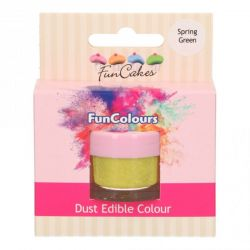 Funcakes Funcolours Dust Edible Colour spring Green