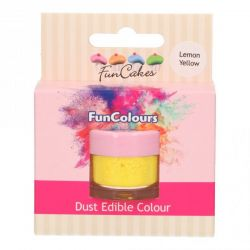 Funcakes Funcolours Dust Edible Colour Lemon Yellow