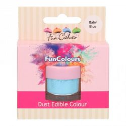 Funcakes Funcolours Dust Edible Colour Baby Blue
