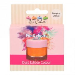 Funcakes Funcolours Dust Edible Colour Pumpkin Orange