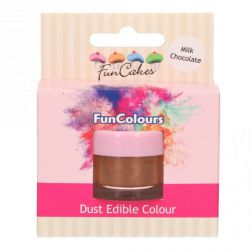 Funcakes Funcolours Dust Edible Colour Milk Chocolate