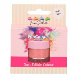Funcakes Funcolours Dust Edible Colour Pink Rose