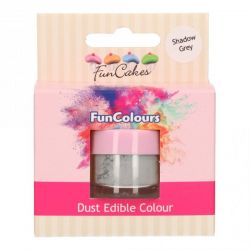 Funcakes Funcolours Dust Edible Colour Shadow Grey
