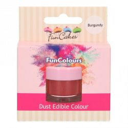 Funcakes Funcolours Dust Edible Colour Burgundy