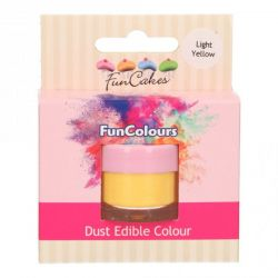 Funcakes Funcolours Dust Edible Colour Light Yellow