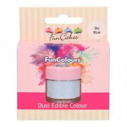 Funcakes Funcolours Dust Edible Colour Sky Blue