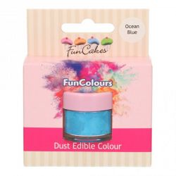 Funcakes Funcolours Dust Edible Colour Ocean Blue