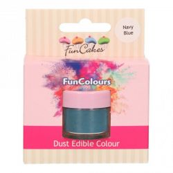 Funcakes Funcolours Dust Edible Colour Navy Blue