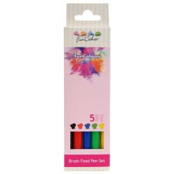 Funcakes Funcolours Brush Food Pen Set