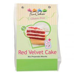 Funcakes Glutenvrij Red Velvet Cake 400gr