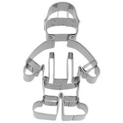 Birkmann Cookie Cutter Firefighter 8cm