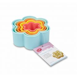 Tala Plastic Cookie Cutters Flower Set/5