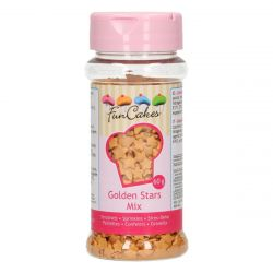 Funcakes Sprinkles Stars Golden Mix 60gr