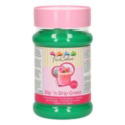 FunCakes Dip 'n Drip Groen 375g
