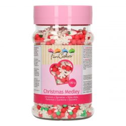 Funcakes Sprinkle Medley Christmas 180 gram