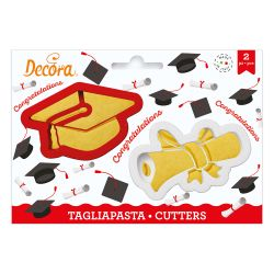 Decora Cookie Cutters Geslaagd Set/2
