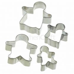 KitchenCraft Cookie Cutters Gingerbread Family