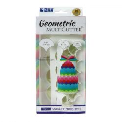 PME Geometric Cutter Fish Scale Set/3