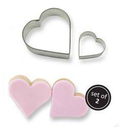 PME Cookie Cutter Heart Set/2