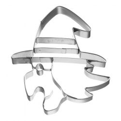Birkmann Cookie Cutter Witch's Face Profile 8cm