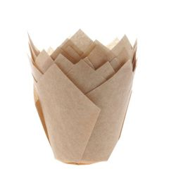 House Of Marie Tullip Muffin Cups Kraft