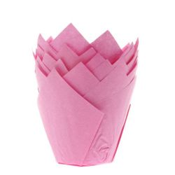 House Of Marie Tullip Muffin Cups Roze